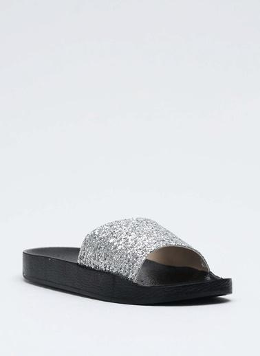 Shoes1441 Terlik Gümüş